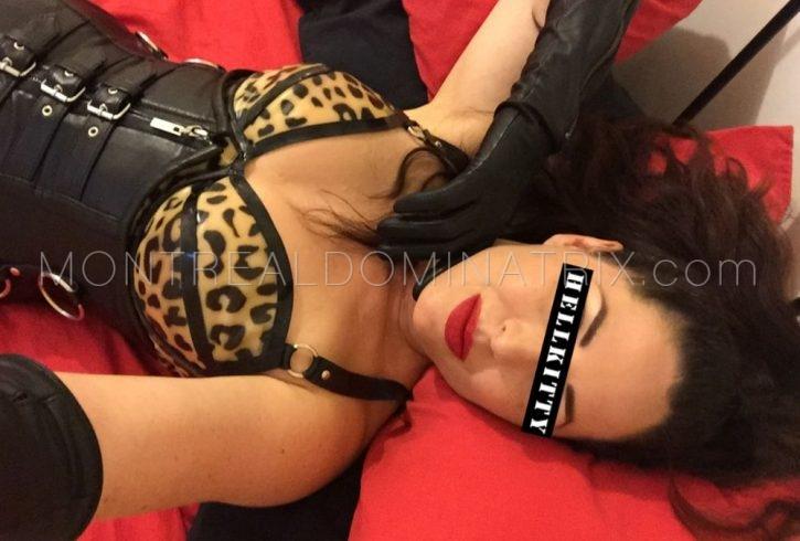 Montreal dominatrix Mistress Hellkitty