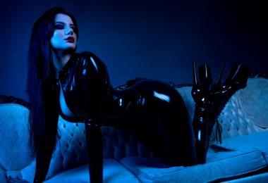 Mistress Irena Fox bodysuit latex