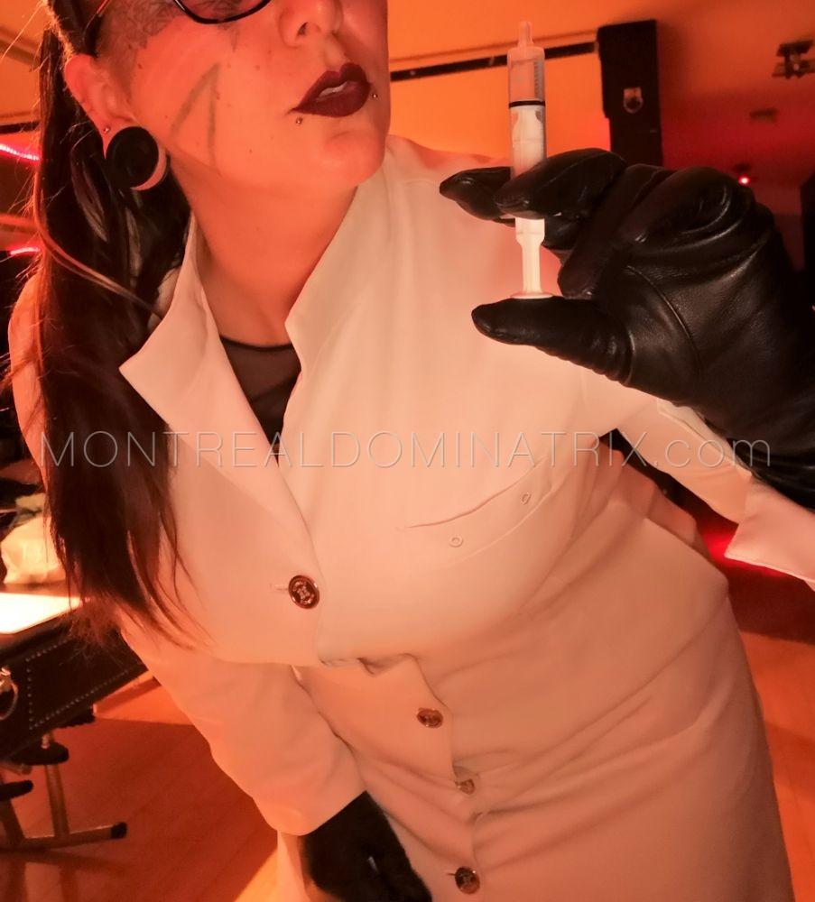 Nurse roleplay fetish Montreal Mistress Selene Pain