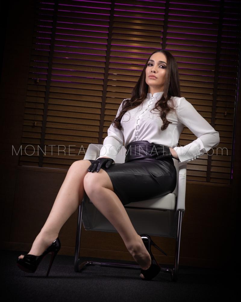 Office roleplay Mistress Alexxa Von Hell