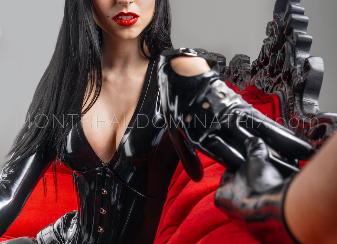 Latex gloves fetish Mistress Malissia